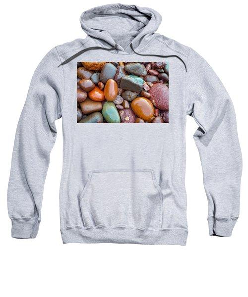Colorful Wet Stones Sweatshirt