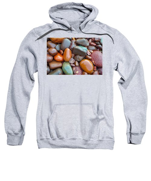 Colorful Wet Stones Sweatshirt