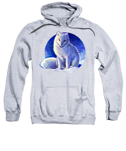 Colorful Winter Arctic Fox Sweatshirt