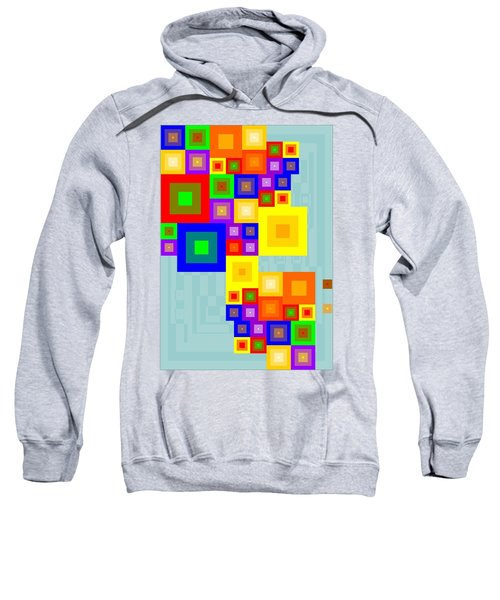 Colourful Cubism  Sweatshirt