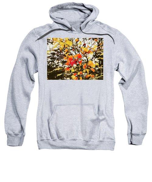 Colourful Leaves Sweatshirt