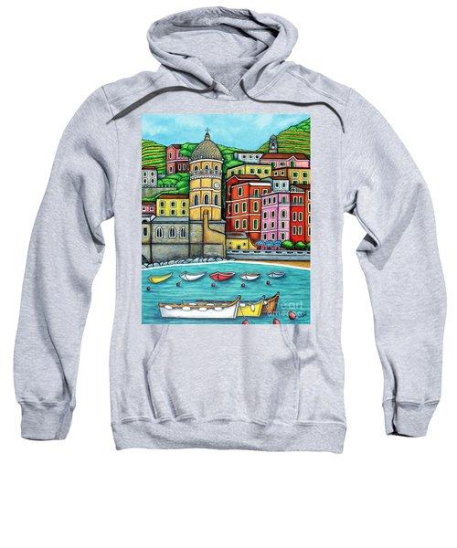 Colours Of Vernazza Sweatshirt