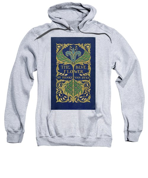Cover Design For The Blue Flower Sweatshirt