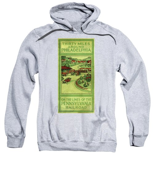 Cover Of Thirty Miles Around Philadelphia Sweatshirt