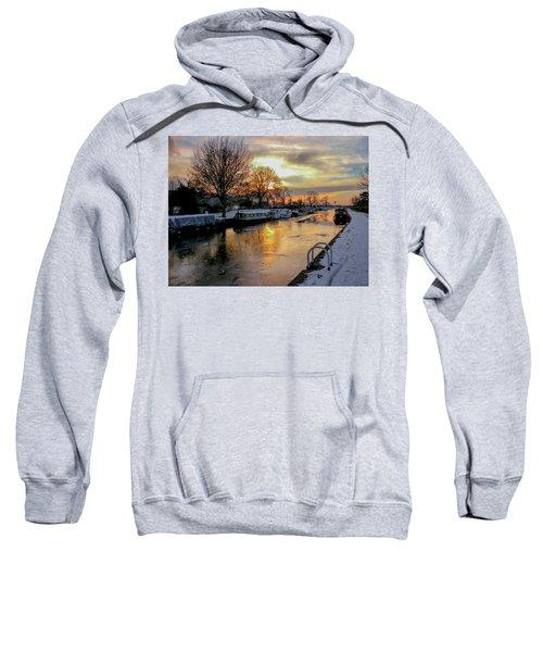 Cranfleet Canal Boats Sweatshirt