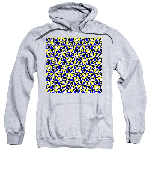 Crazy Psychedelic Art In Chaotic Visual Color And Shapes - Efg22 Sweatshirt