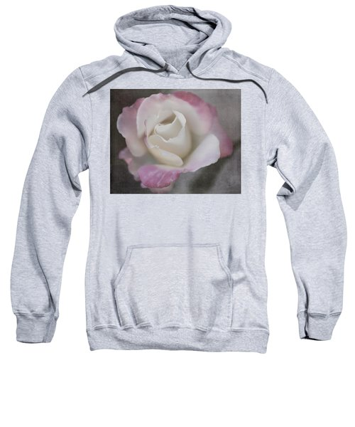 Creamy White Center By Tl Wilson Photography Sweatshirt