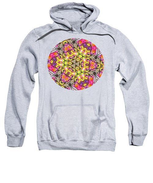 Crewe Of Columbus - Mr Mardi Gras Kaleidoscope 3 Sweatshirt