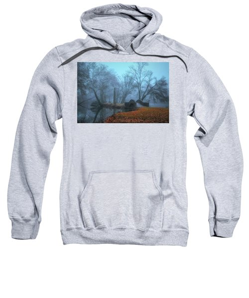 Crossing Into Winter Sweatshirt