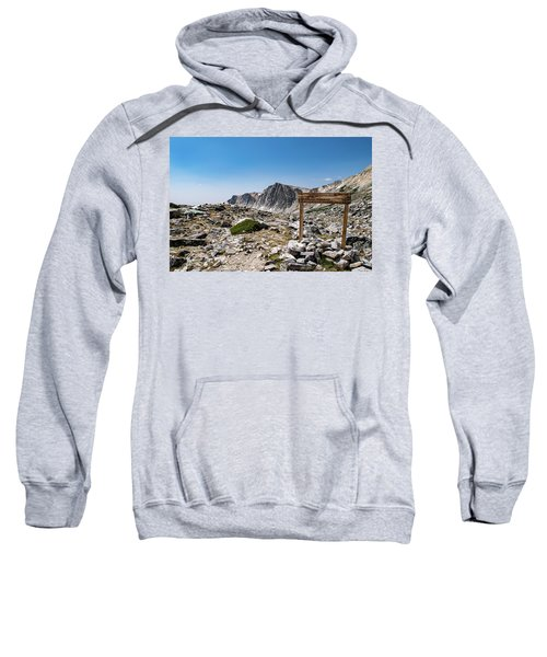 Crossroads At Medicine Bow Peak Sweatshirt