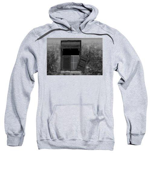 Crumblling Window Sweatshirt