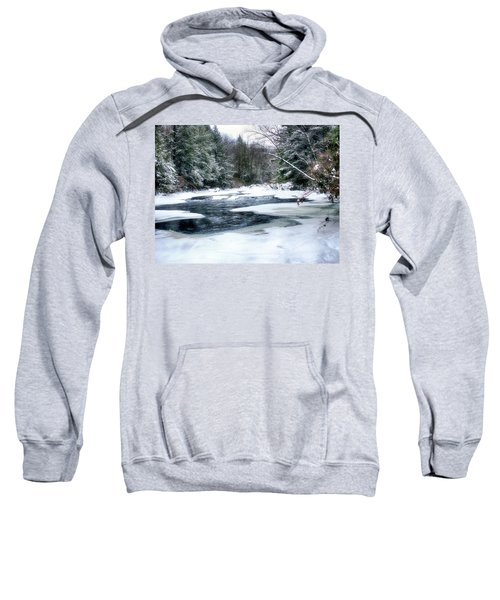 Cucumber Run In Winter Sweatshirt