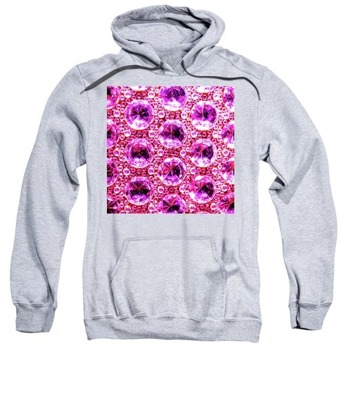 Cut Glass Beads 6 Sweatshirt