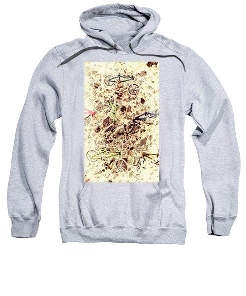 Cycling Abstracts Sweatshirt