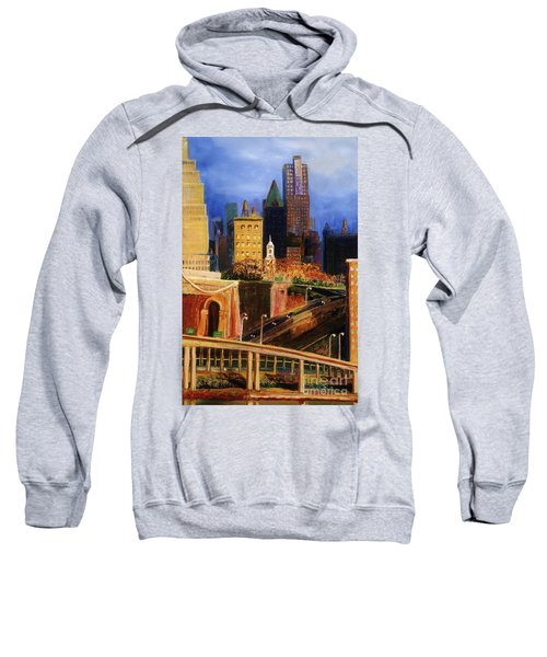 Dawn At City Hall Sweatshirt