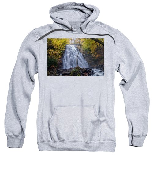 Dawn At Crabtree Falls Sweatshirt