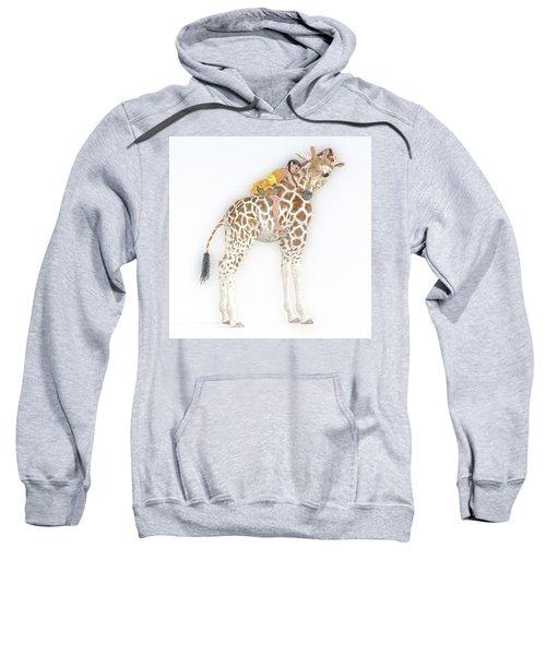 Daydreaming Of Giraffes  Sweatshirt