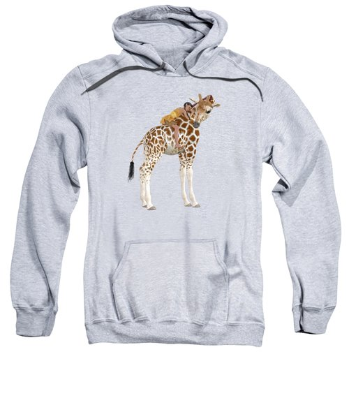 Daydreaming Of Giraffes Png Sweatshirt