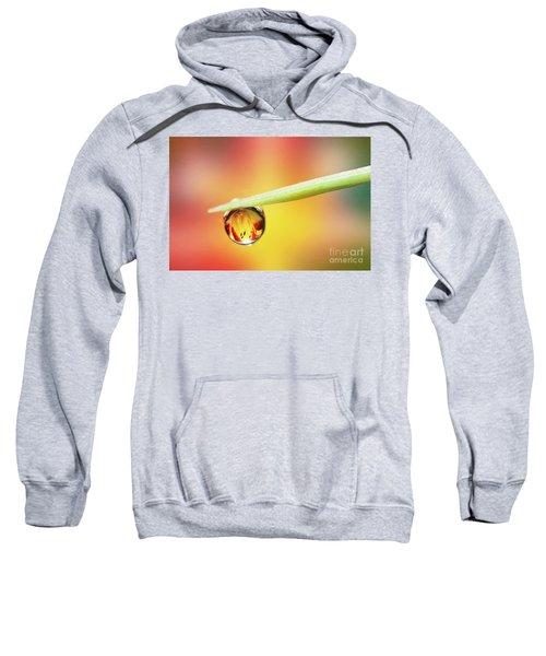 Daylily In A Droplet Sweatshirt