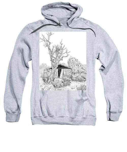 Decay Of Calamity The Half Life Of A Dream Black And White  Sweatshirt