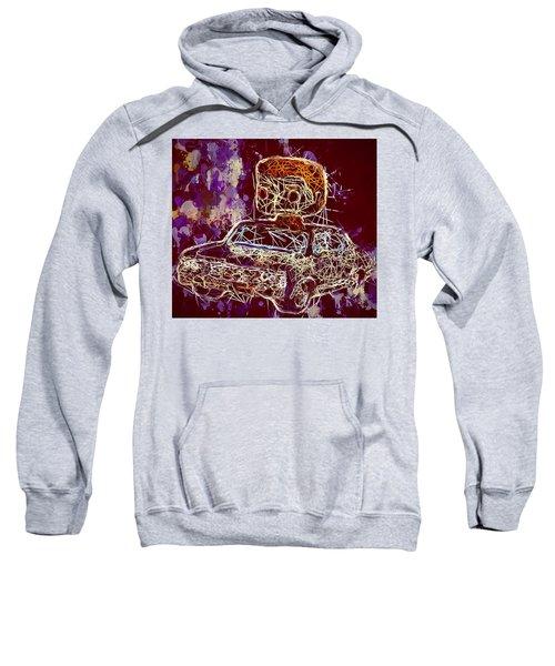 Dean Winchester Car Supernatural Pop  Sweatshirt