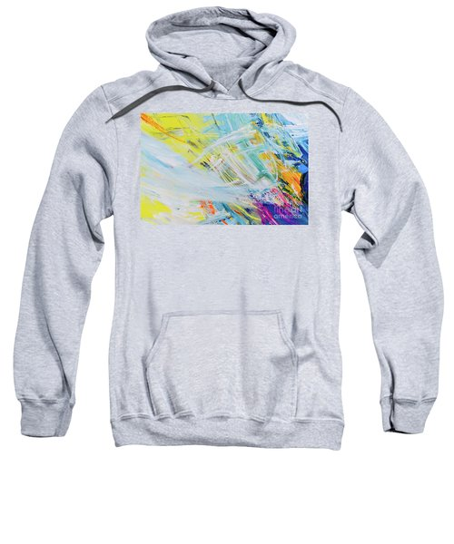 Detail Of Brush Strokes Of Random Colors To Use As Background An Sweatshirt