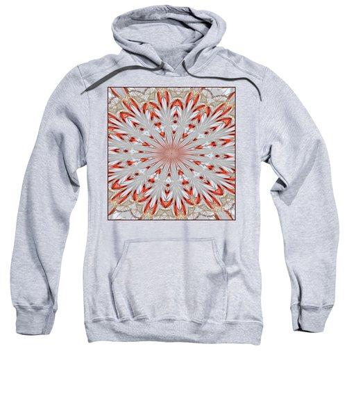 Digitalized Cardinal Sweatshirt