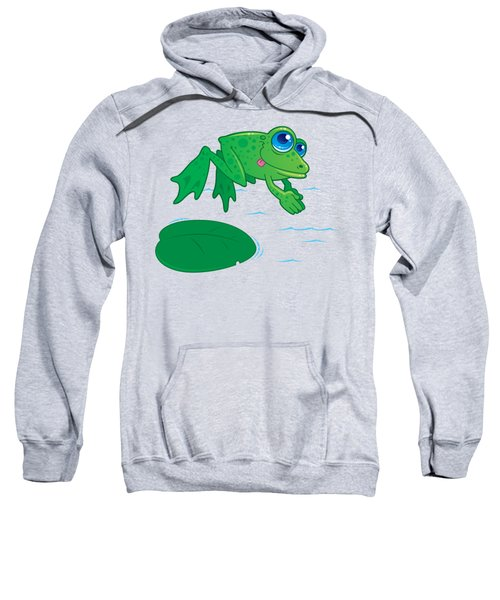 Diving Frog Sweatshirt
