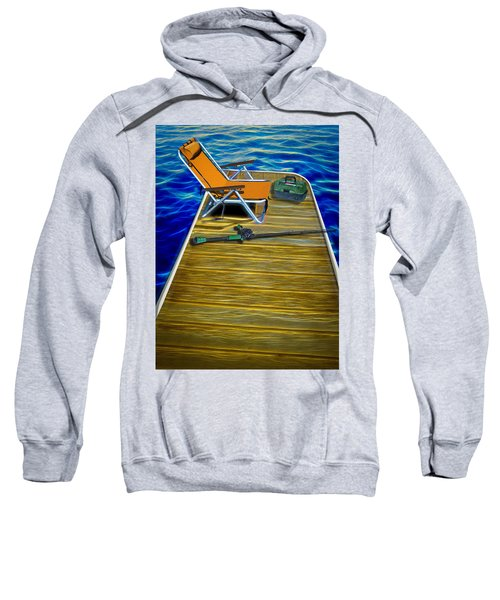 Done Fishing Sweatshirt