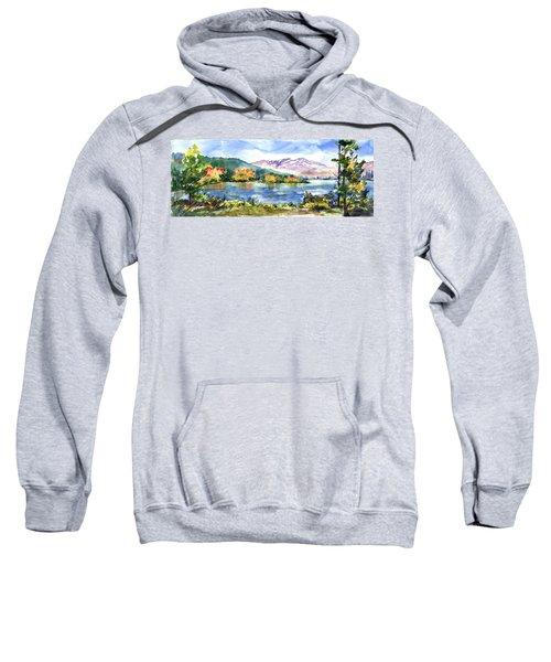 Donner Lake Fisherman Sweatshirt