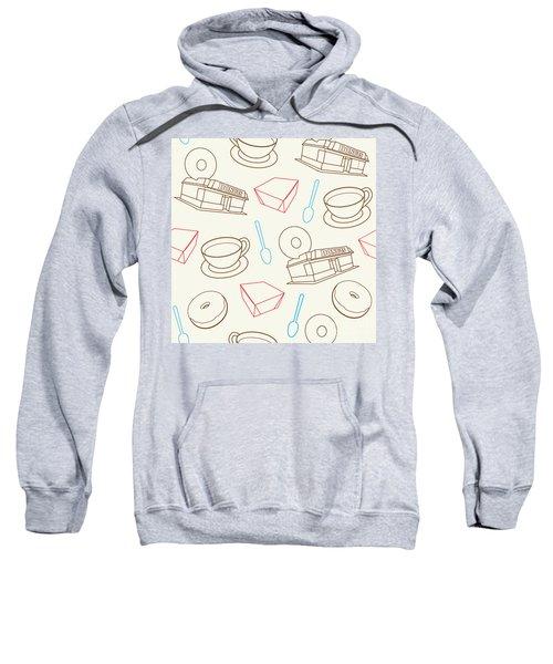 Doughnut_wallpaper_f3 Sweatshirt