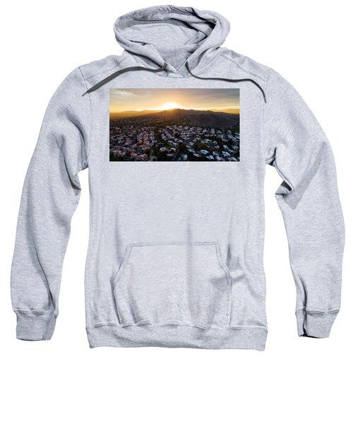 Dramatic South Mountain Sunset Sweatshirt