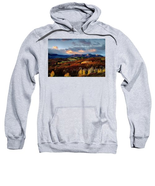 Dramatic Sunrise In The San Juan Mountains Of Colorado Sweatshirt