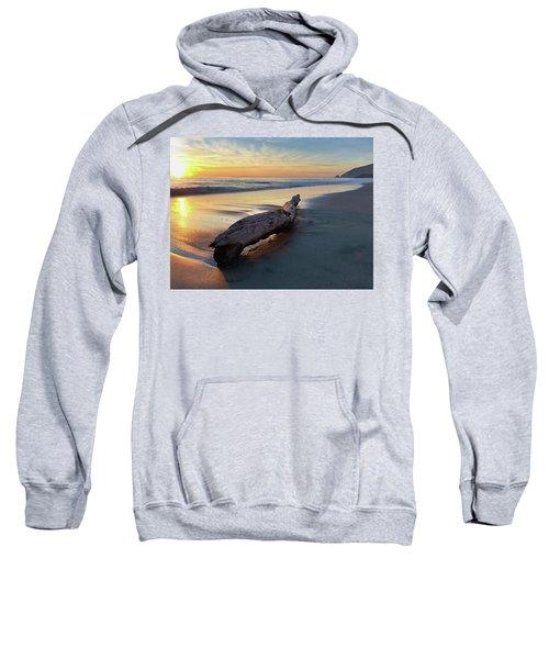 Drift Wood At Sunset II Sweatshirt