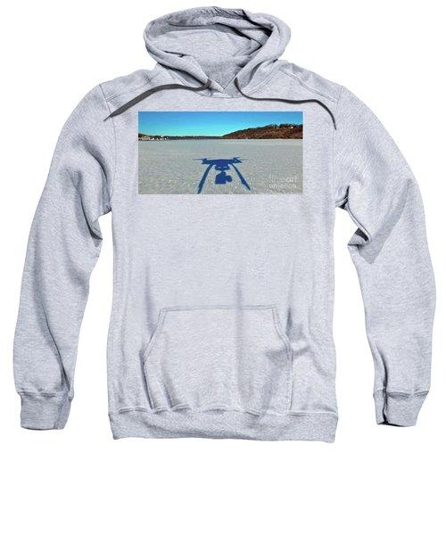 Drone Selfie Down Low Sweatshirt