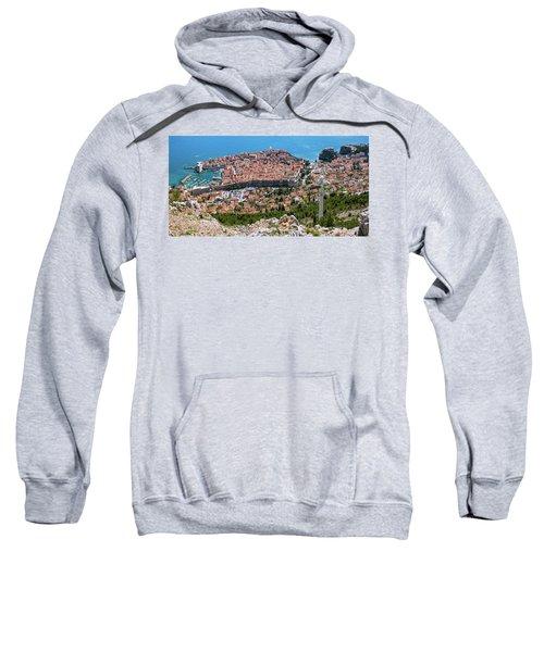 Dubrovnik Panorama From The Hill Sweatshirt