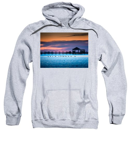 Duck Sunset - Outer Banks North Carolina Sweatshirt
