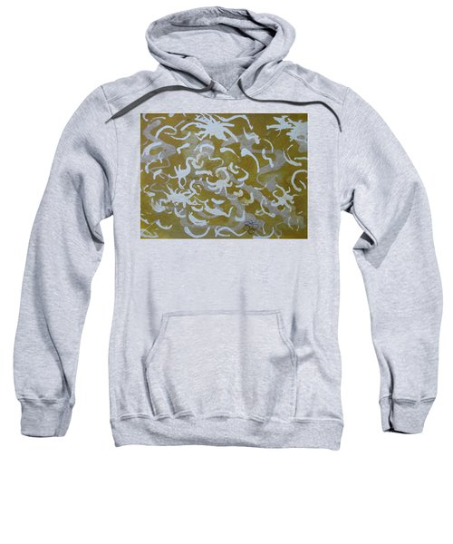 Dull Yellow With Masking Fluid Sweatshirt