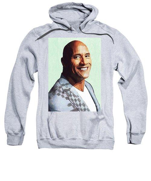 Dwayne Johnson Artwork Sweatshirt