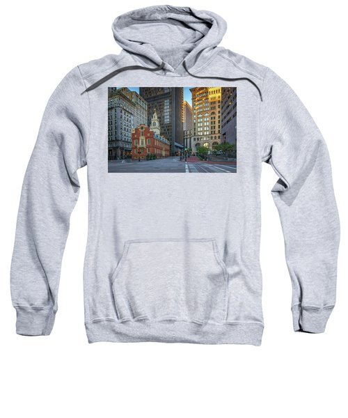 Early Morning At The Old Statehouse Sweatshirt