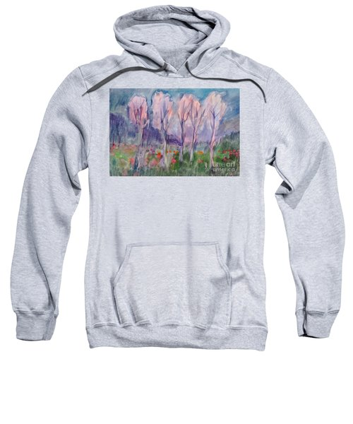 Early Morning In The Forest Sweatshirt