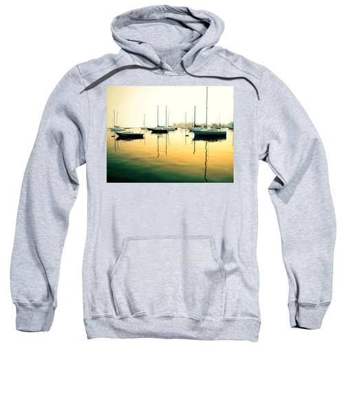 Early Mornings At The Harbour Sweatshirt