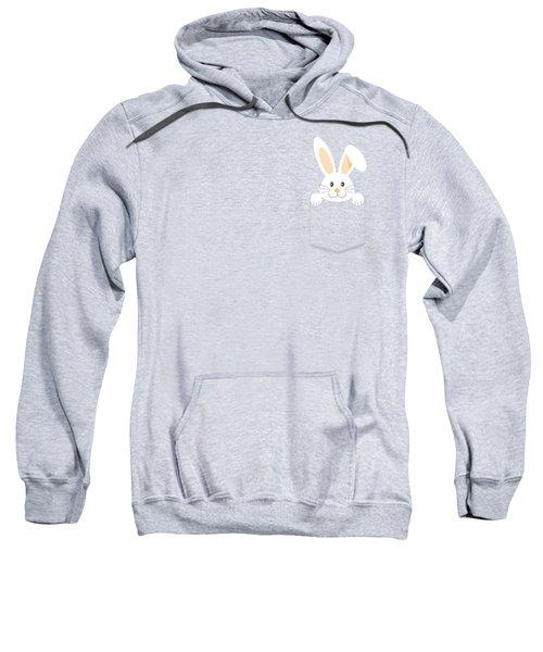 Easter Bunny Pocket Sweatshirt