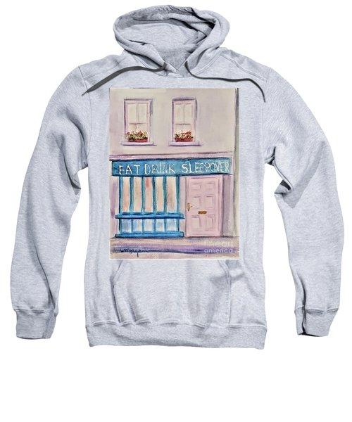 Eat Drink Sleepover Sweatshirt