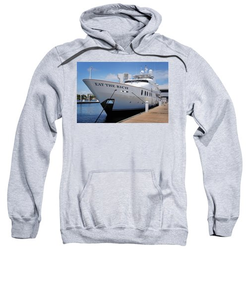 Eat The Rich Yacht Sweatshirt