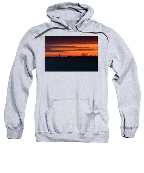Egmont Key Lighthouse Sunset Sweatshirt