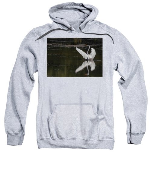 Egret Reflections Sweatshirt