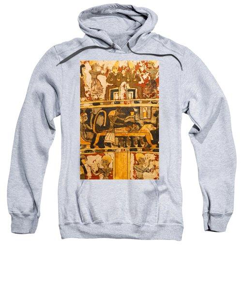 Egyptian Wall Art Sweatshirt