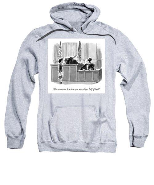Either Half Sweatshirt