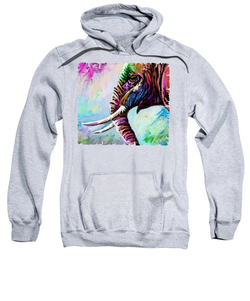 Elephant Profile Sweatshirt
